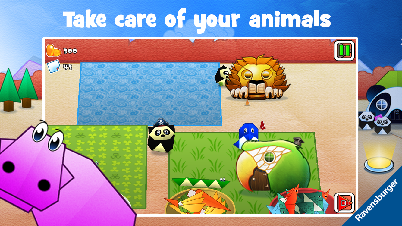 Play-Origami Zoo- screenshot