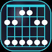Mapa Diapasón de la Guitarra