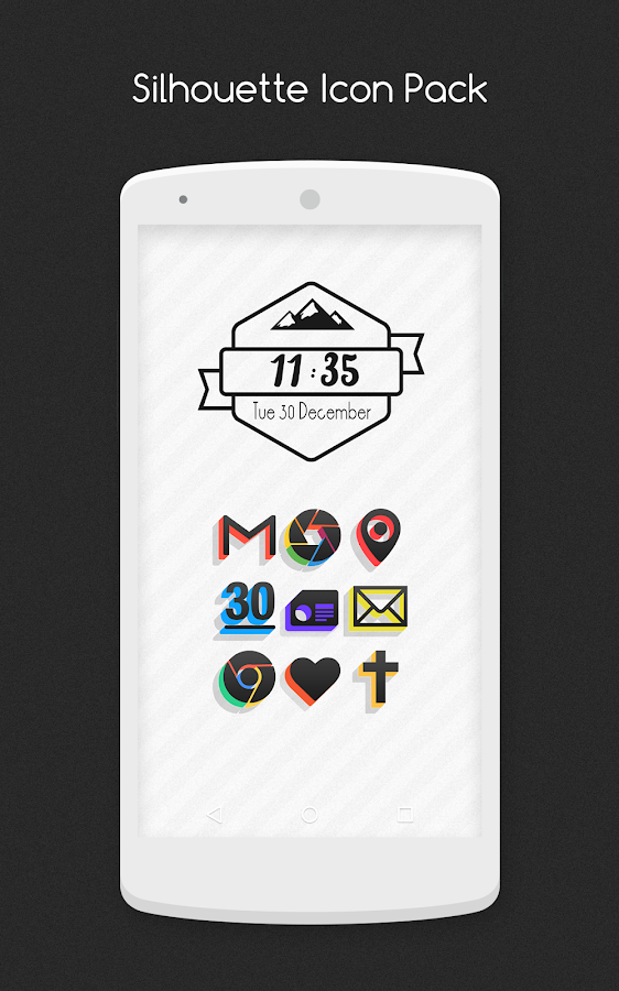 Silhouette - Icon Pack - screenshot