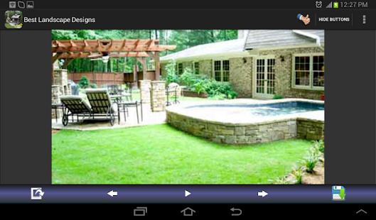Backyard Design App backyard designs app Best Landscape Designs Screenshot Thumbnail