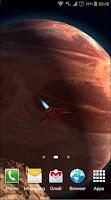 Screenshot of Planetscape 3D Live Wallpaper