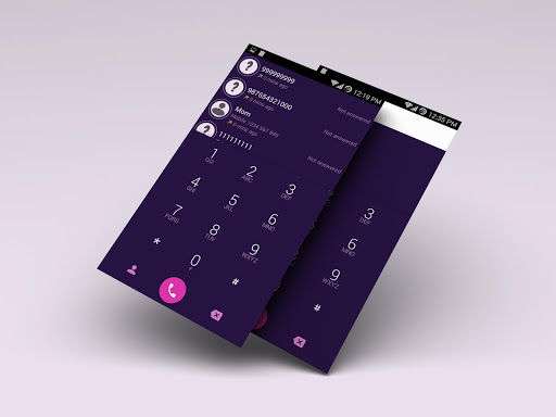 ExDialer Theme Material Purple