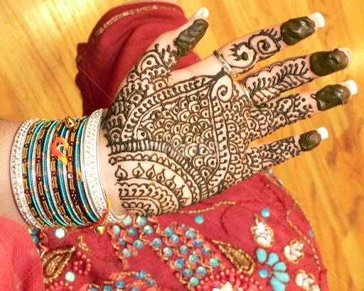 Indian Henna Hand Painting Body Art Tattoos People Pixoto