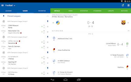 LiveScore SofaScore Screenshot 1