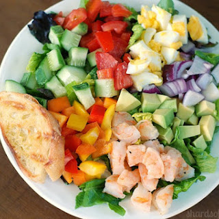 Chopped Salad with Creamy Lemon Dressing
