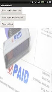 Plata facturi - Bill Payment - screenshot thumbnail
