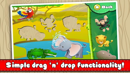 Animal Puzzle - Drag 'n' Drop- screenshot thumbnail