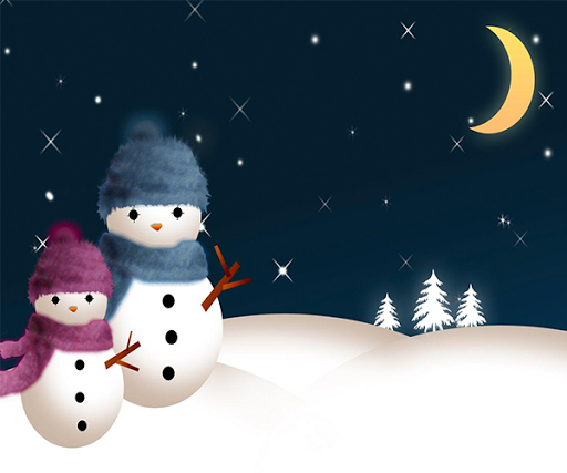 【免費個人化App】雪人動態壁紙-APP點子