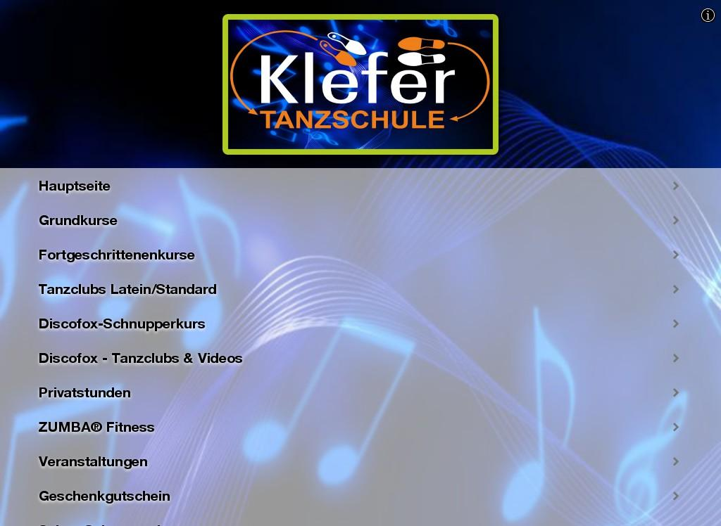 Tanzschule Klefer- screenshot