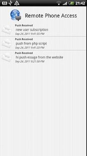 Remote Phone Access - screenshot thumbnail