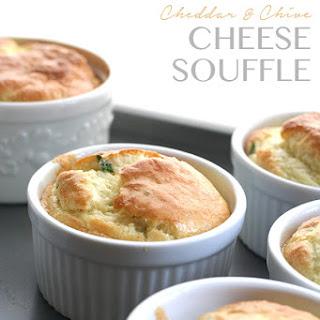 Cheddar & Chive Soufflés