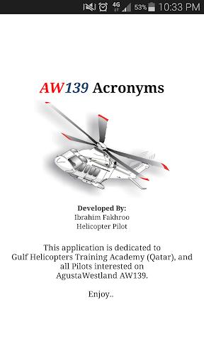 AW139 Acronyms