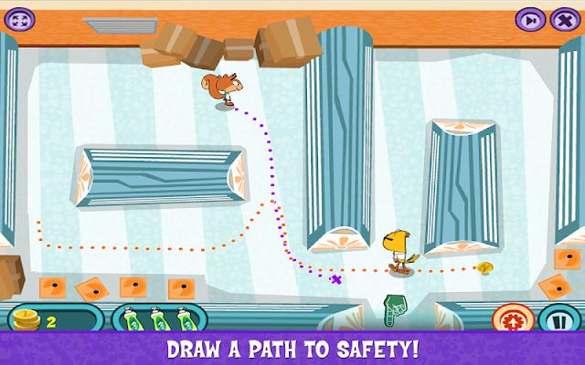 Scaredy Squirrel: Boo! - screenshot