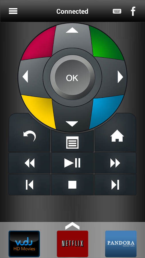 NeoTV Remote - screenshot