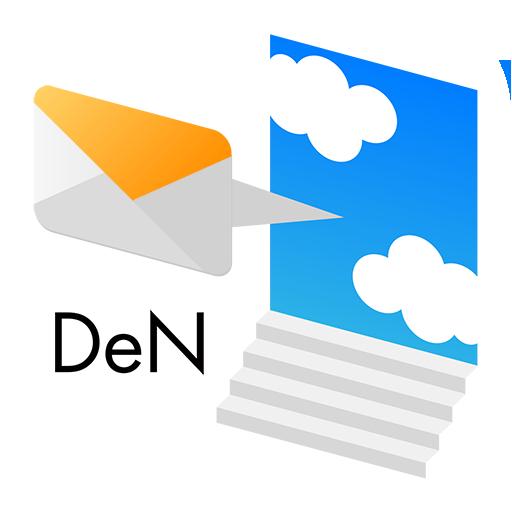 もしもメッセージ配信アプリ DeN LOGO-APP點子