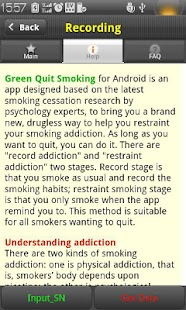 Green Quit Smoking - screenshot thumbnail