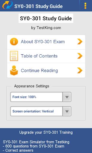 SY0-301 Study Guide Demo