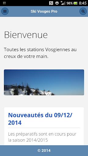 Ski Vosges Pro