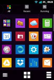 Windows 8 Metro Go Theme - screenshot thumbnail