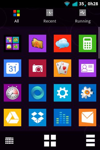 Windows 8 Metro Go Theme - screenshot