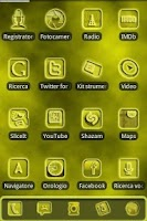Screenshot of ADW FogGy Yellow Pulse Theme