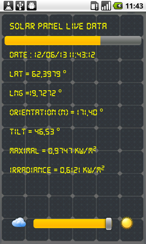 SolarMeter solar panel planner - screenshot