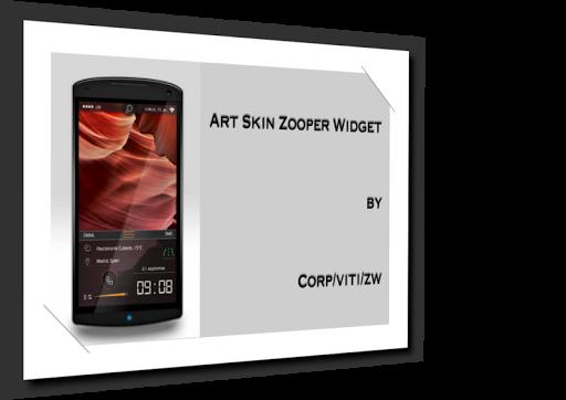 Arte Skin Zooper Widget