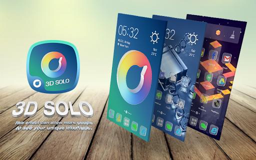 Glass Solo 3D Theme