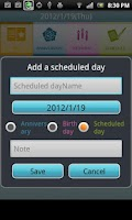 Screenshot of Countdown Anniversary