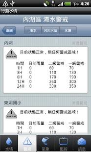 行動水情 Screenshot