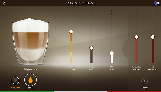 Saeco Avanti espresso machine- screenshot thumbnail