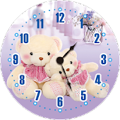 Teddy Bear Clock Free