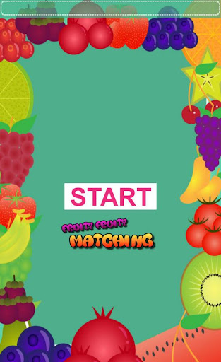 Fruity Fruity Matching Game