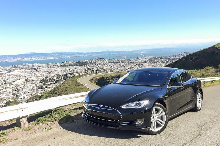 Rent A Black Tesla Model S In San Francisco Getaround - 2013 tesla model s range