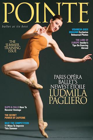 Pointe Magazine - screenshot
