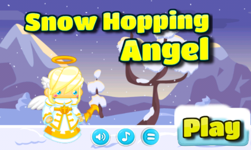 Snow Hopping Angel
