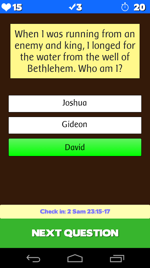 Who am I? (Biblical)- screenshot