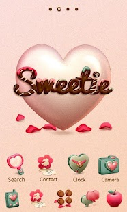 Sweetie - GO Launcher Theme - screenshot thumbnail