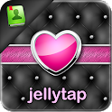 Elegant Heart Pink Go Contacts icon