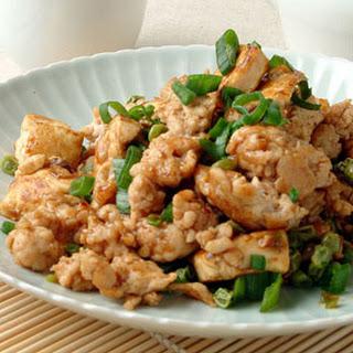 Ground Turkey and Tofu.