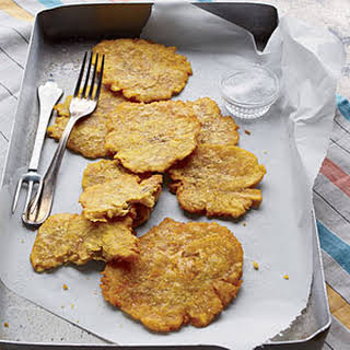 Fried Green Plantains.