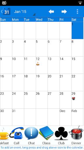 Calendar 2015 France