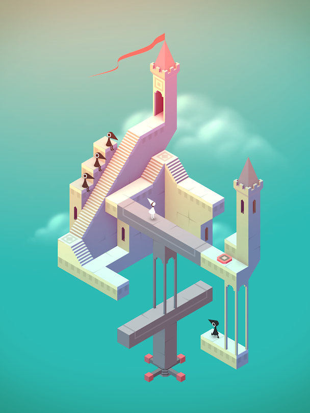 A screenshot of Monument Valley game