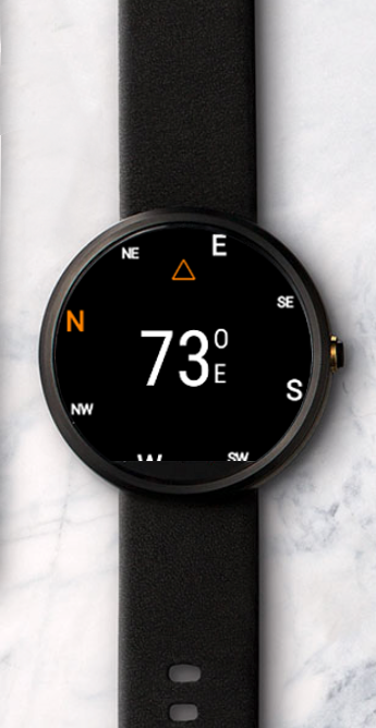 compassx android wear compass android apps on google play. Black Bedroom Furniture Sets. Home Design Ideas