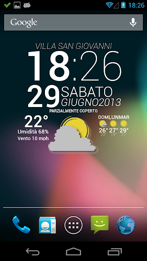 Widgets Now Theme One