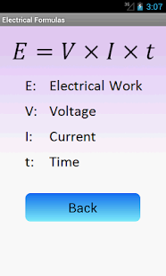 Electrical Formulas- screenshot thumbnail