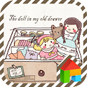Dolls in the old drawer dodol icon