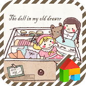 Dolls in the old drawer dodol