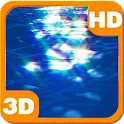Ocean Surface Sunrays Dance 3D icon