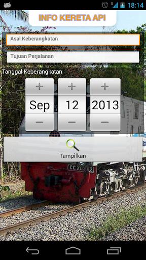 Info Tiket Kereta Api